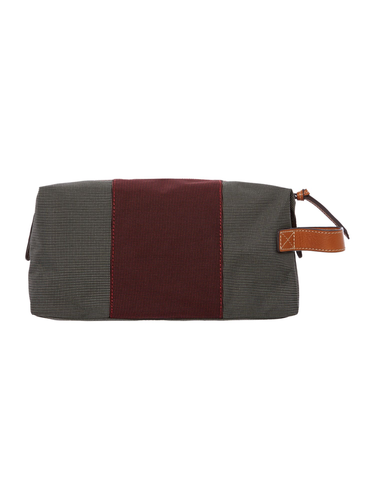 Nylon middle strap washbag