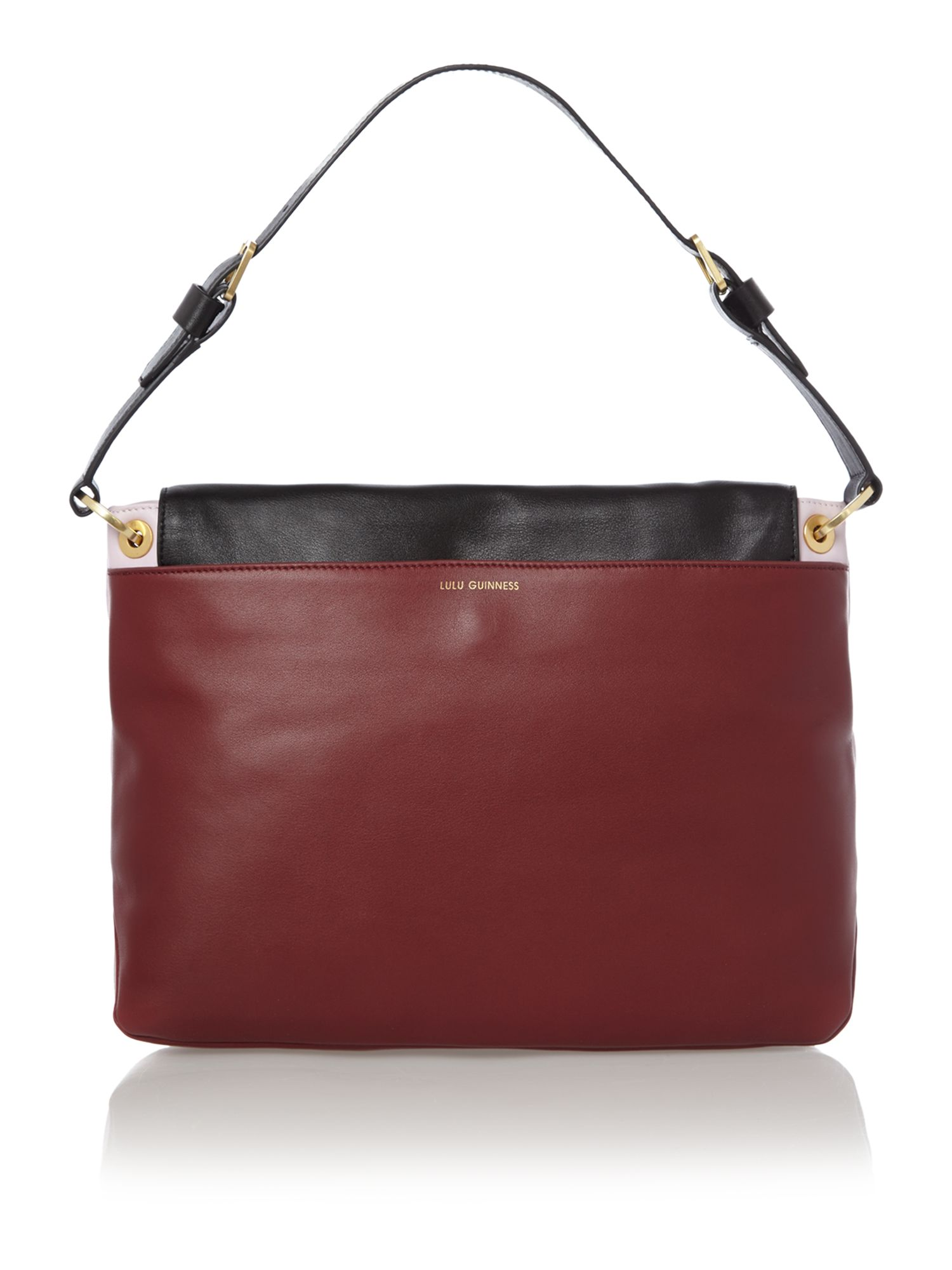 Nicola multi-coloured medium shoulder bag