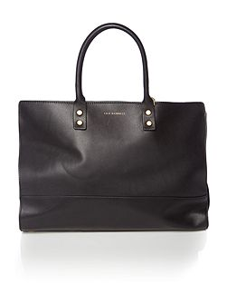 Daphne Smooth Leather Medium Tote Bag