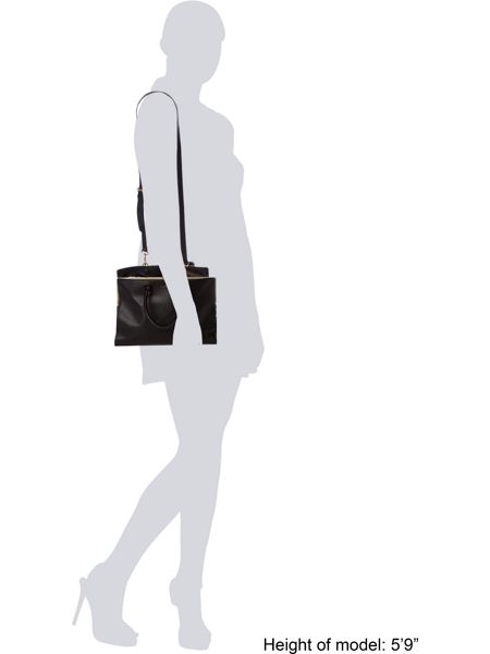 Lulu Guinness Daphne Smooth Leather Medium Tote Bag