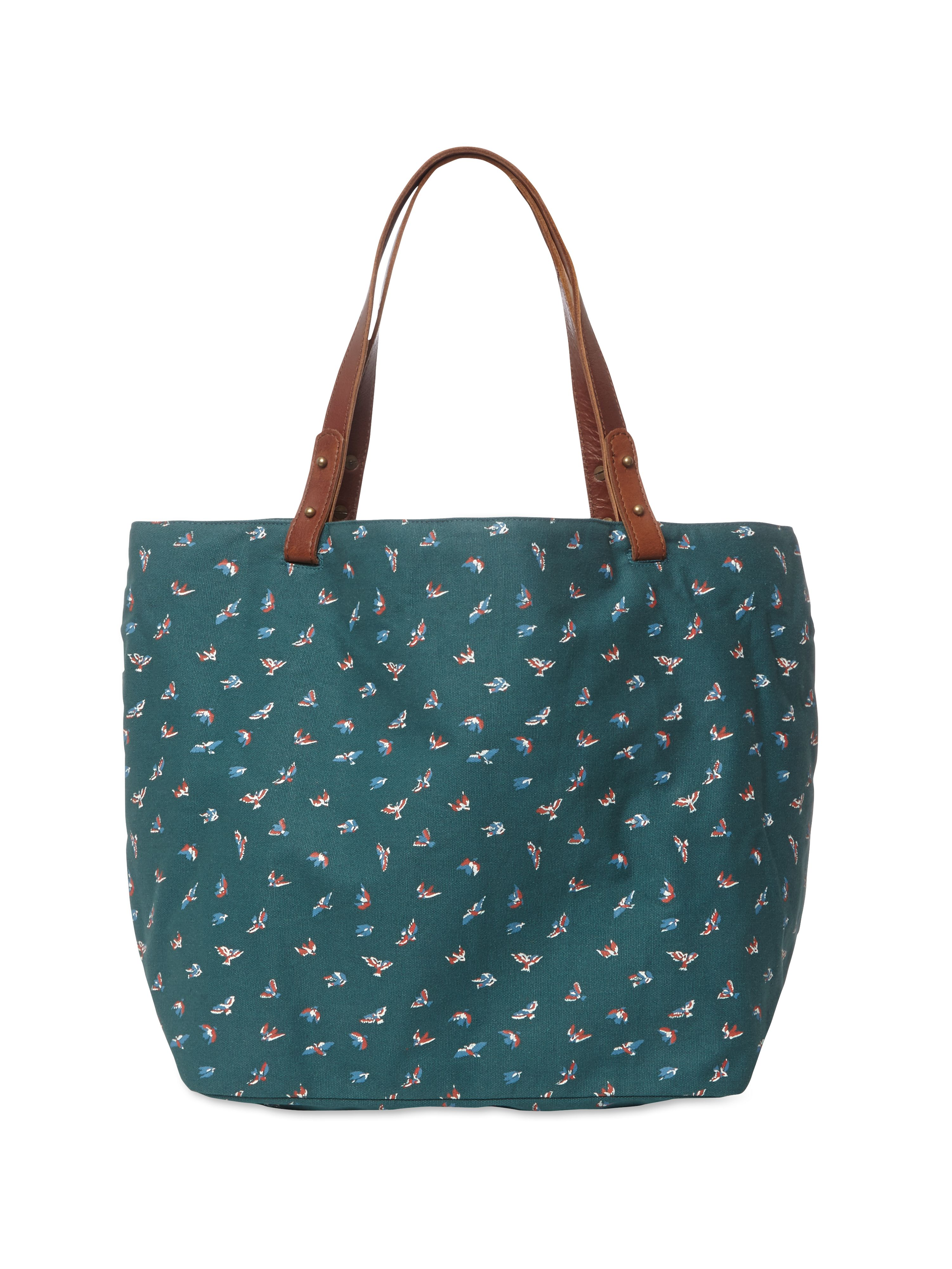 Canvas printed shopper