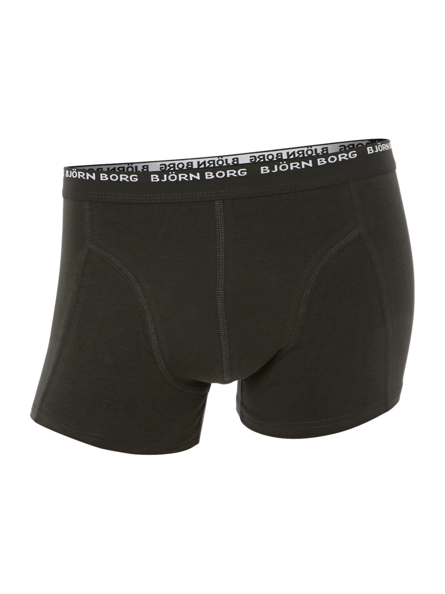 2 pack block colour underwear trunk