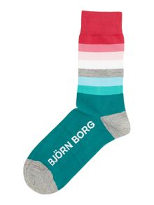 Top stripe sock