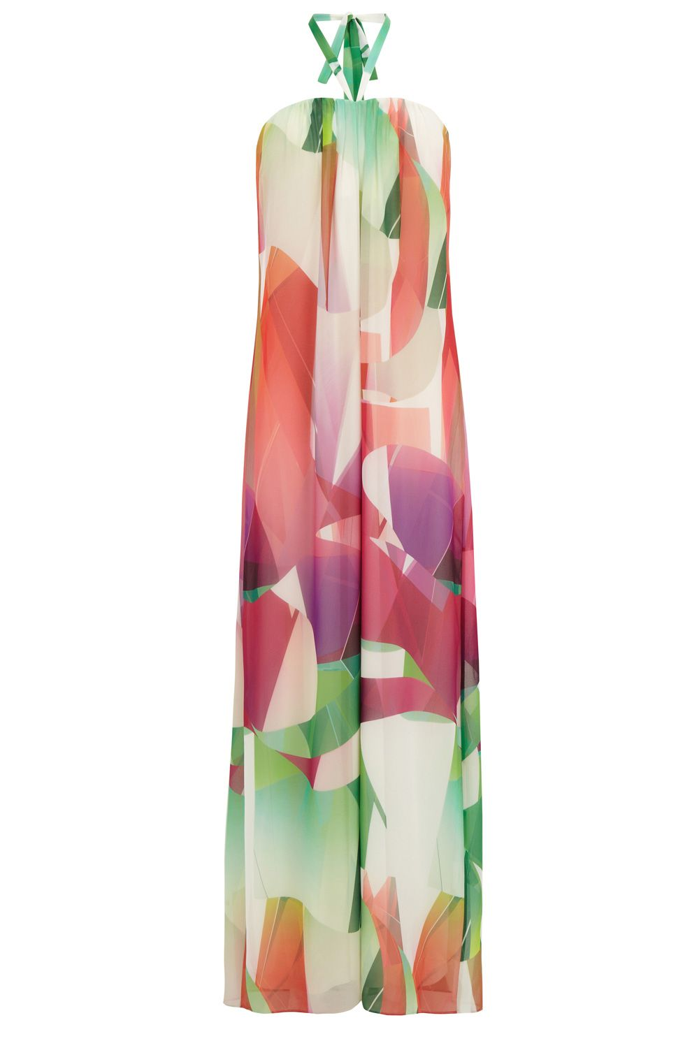 Niah  Printed Maxi Dress