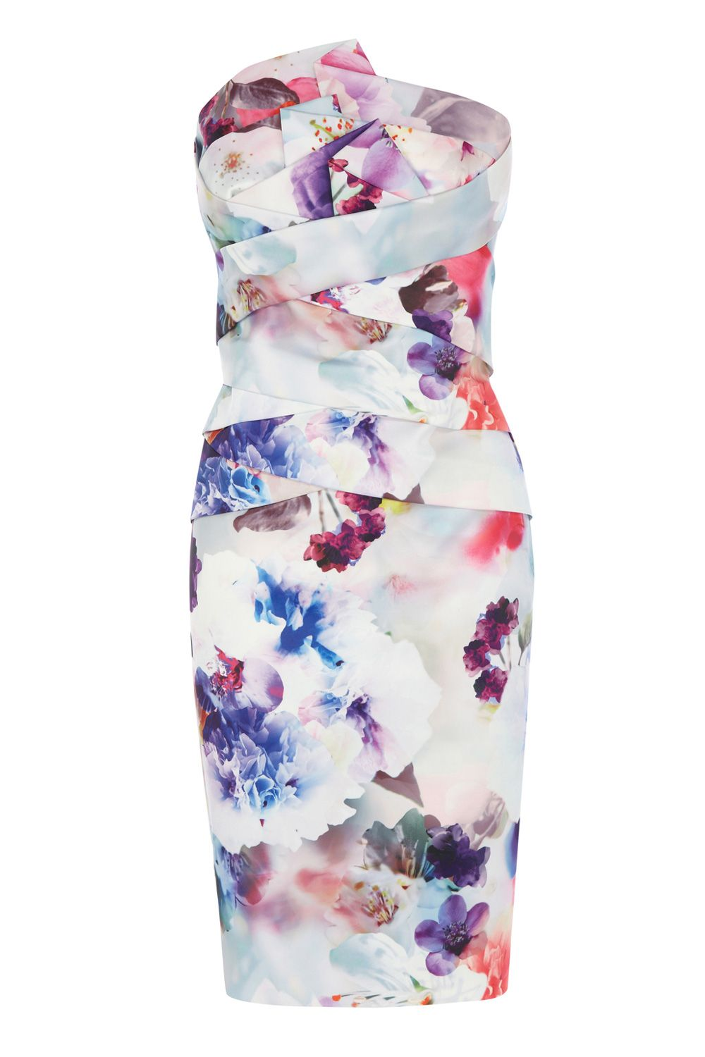Breita Print Dress