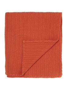 Living by Christiane Lemieux Odisha rust throw
