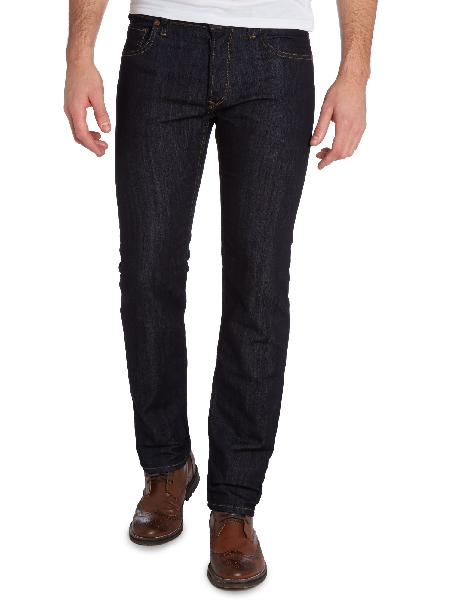 Powell slim fit rinse wash jeans