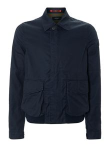 Collared harrington jacket