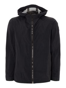 Zip hooded waterproof jacket