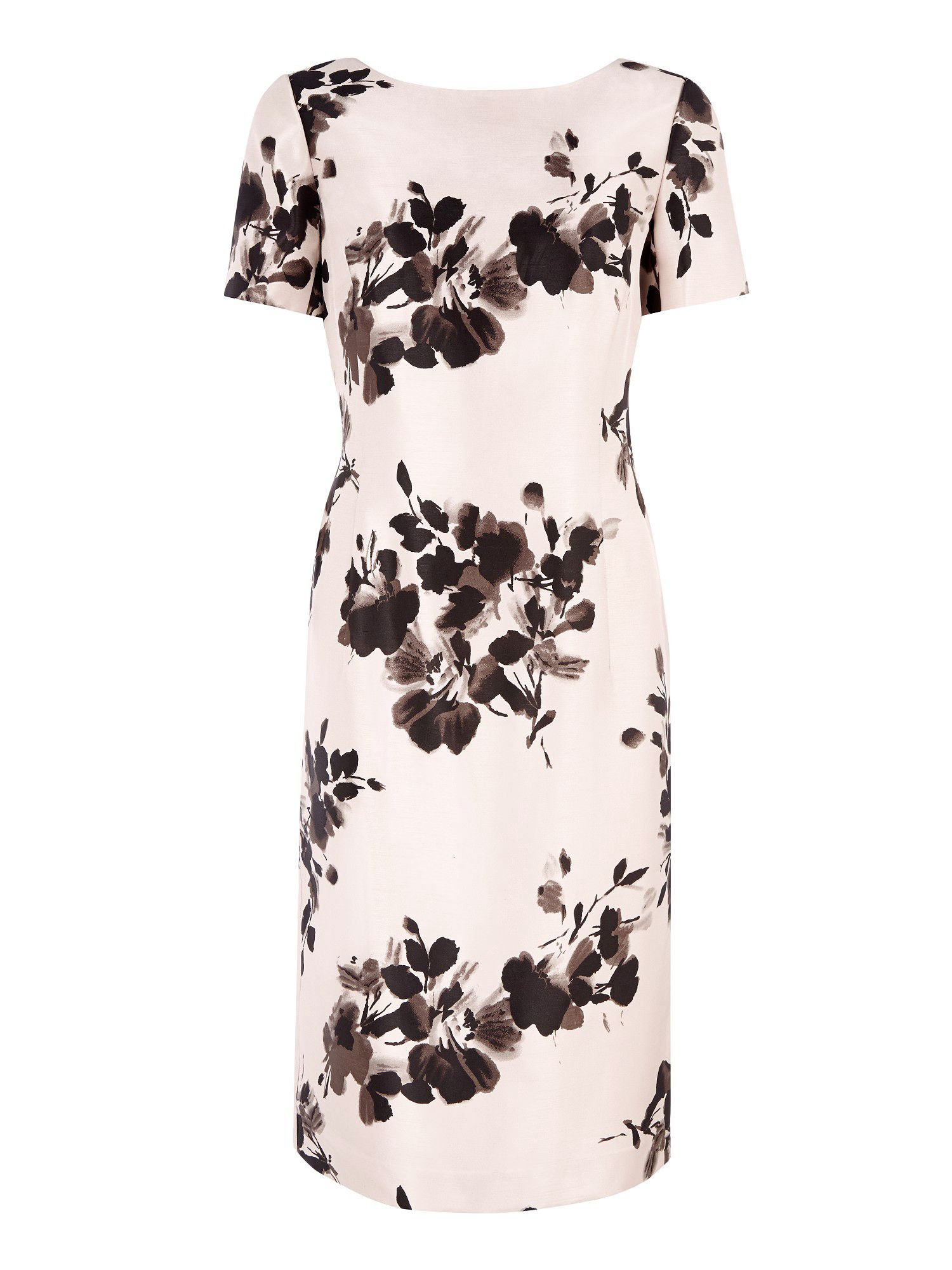 Soft floral print shift dress