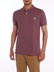 Paul Smith Jeans Zebra logo short sleeve polo shirt