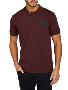 P logo polo shirt
