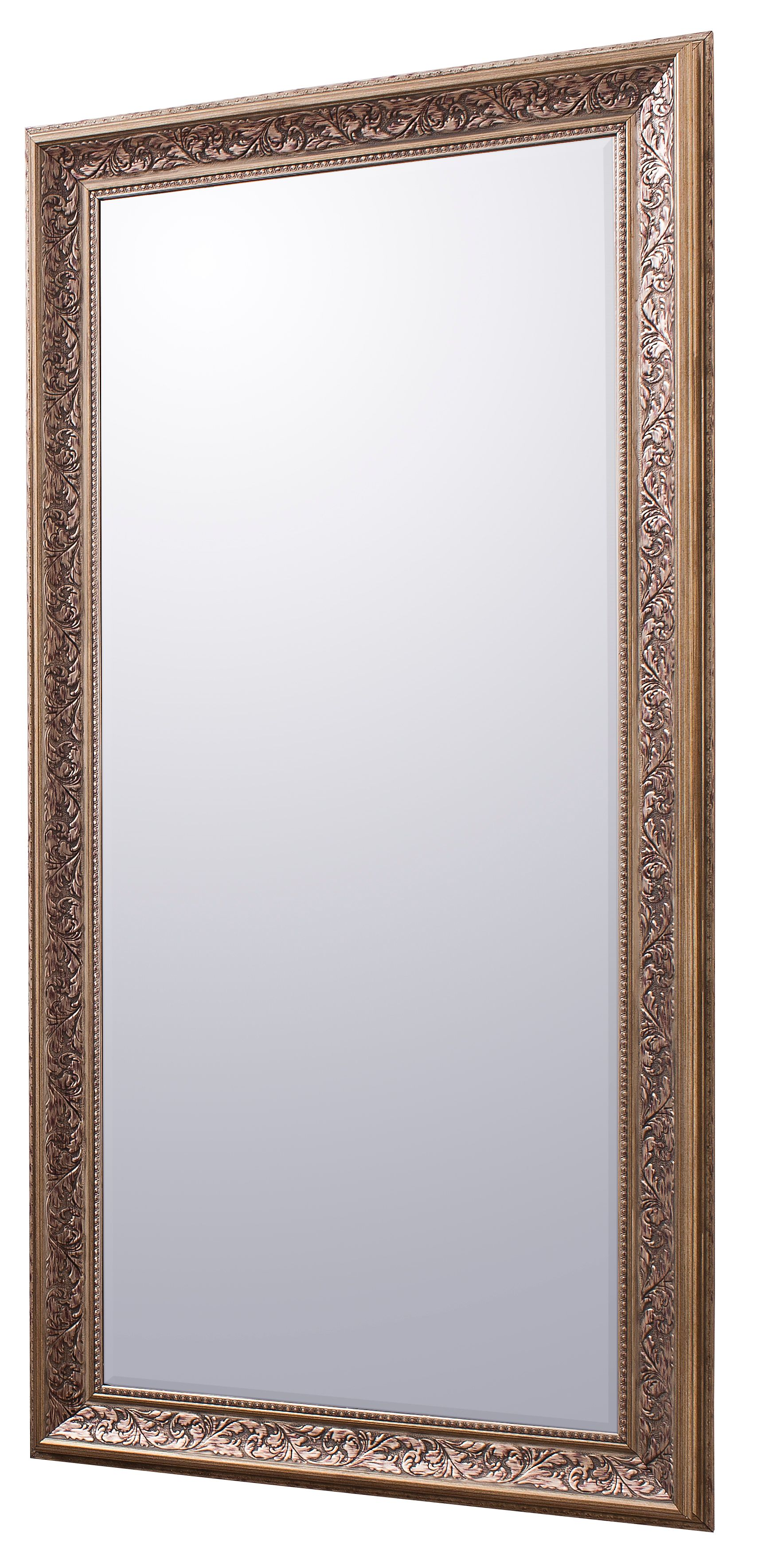Milena Antique Silver Mirror 108 x 78cm