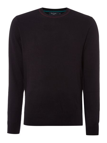 Paul Smith Jeans Merino mix crew neck jumper