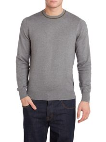 Merino mix crew neck jumper