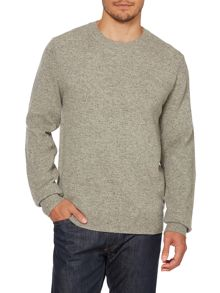 Paul Smith Jeans Flecked crew neck jumper
