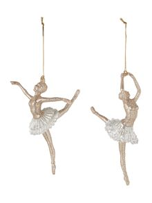 Set of 2 ballet dancers