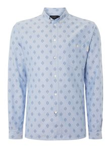 Oxford Print Shirt