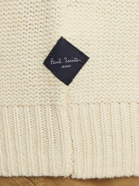 Paul Smith Jeans Cable knit crew neck jumper