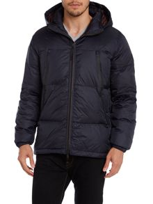 Padded down parka