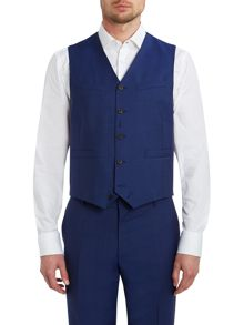 Paul Smith London Byard Slim Fit Wool Mohair Waistcoat