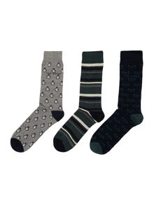 3 Pack Novelty Sock