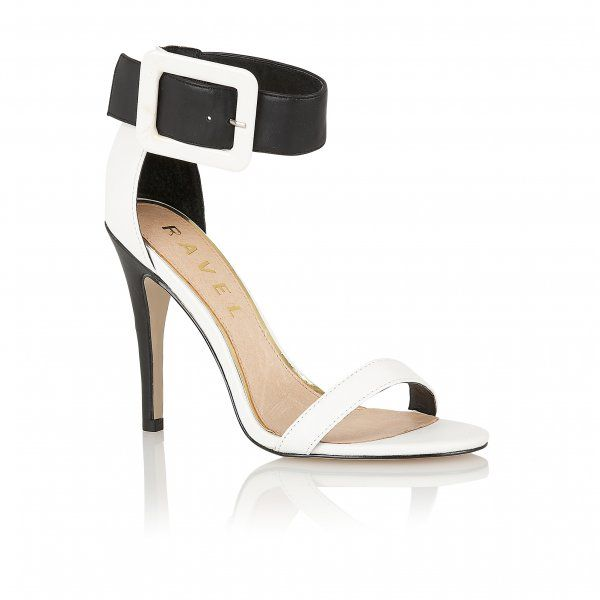 Jasmine open toe stilleto buckle sandals