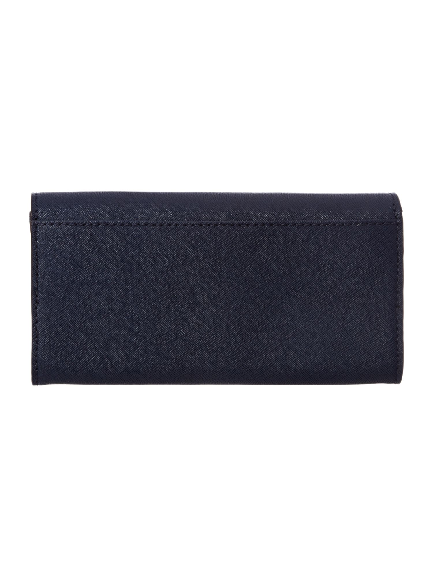 Hamilton large navy flap over purse