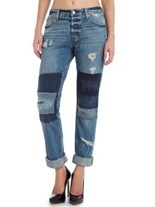 Levi's 501 boyfriend jeans in shipwrecked