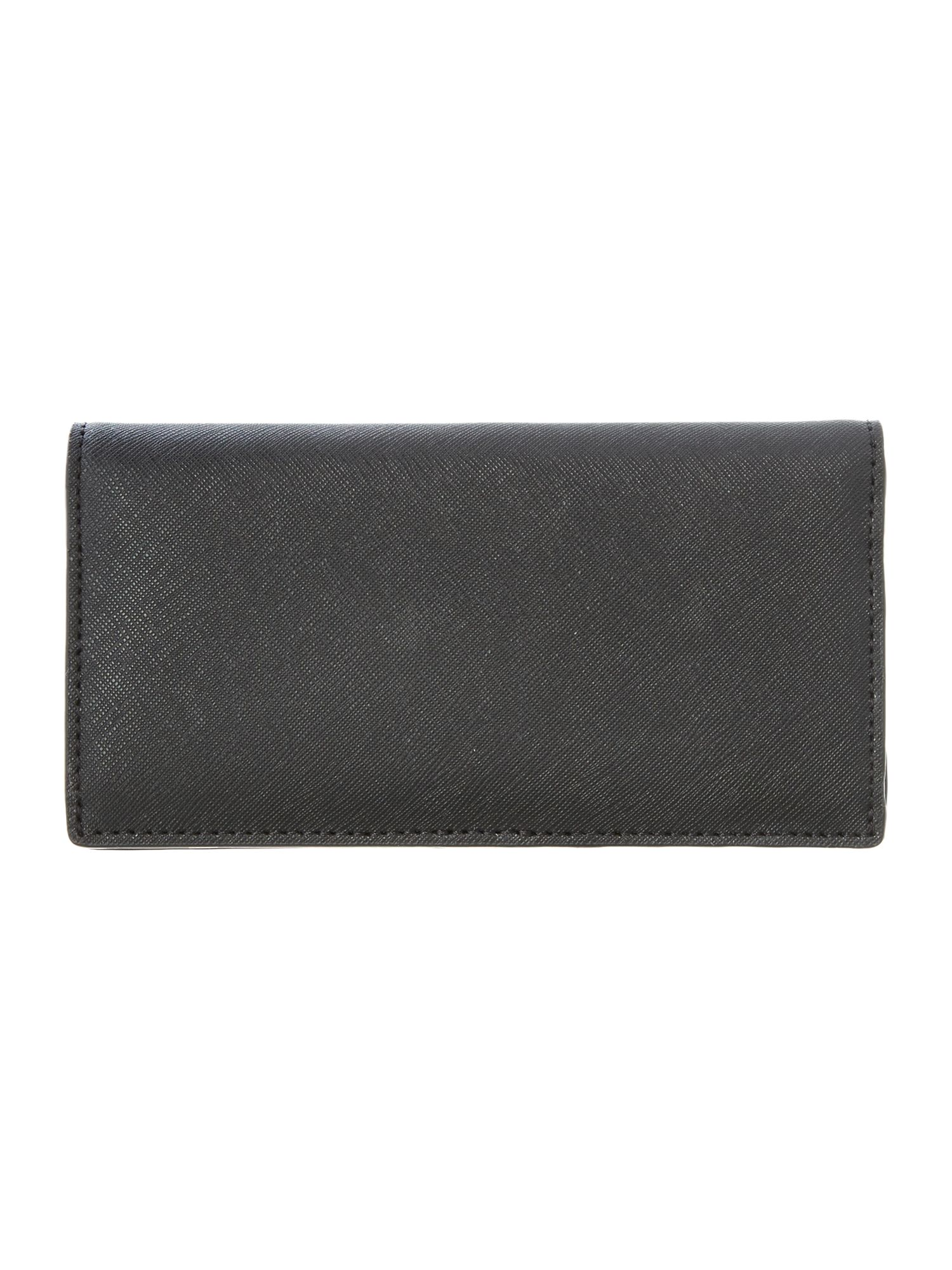 Jet Set Travel black large wallet