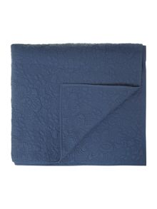 Florence navy bedspread