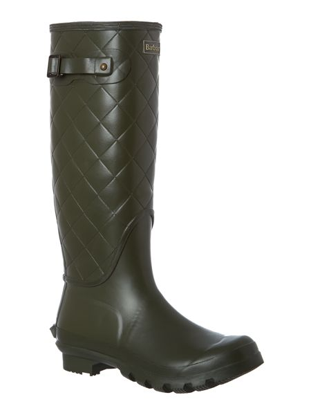 Barbour Setter quilted welly