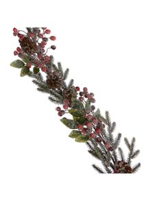 Frosted Red Berry garland