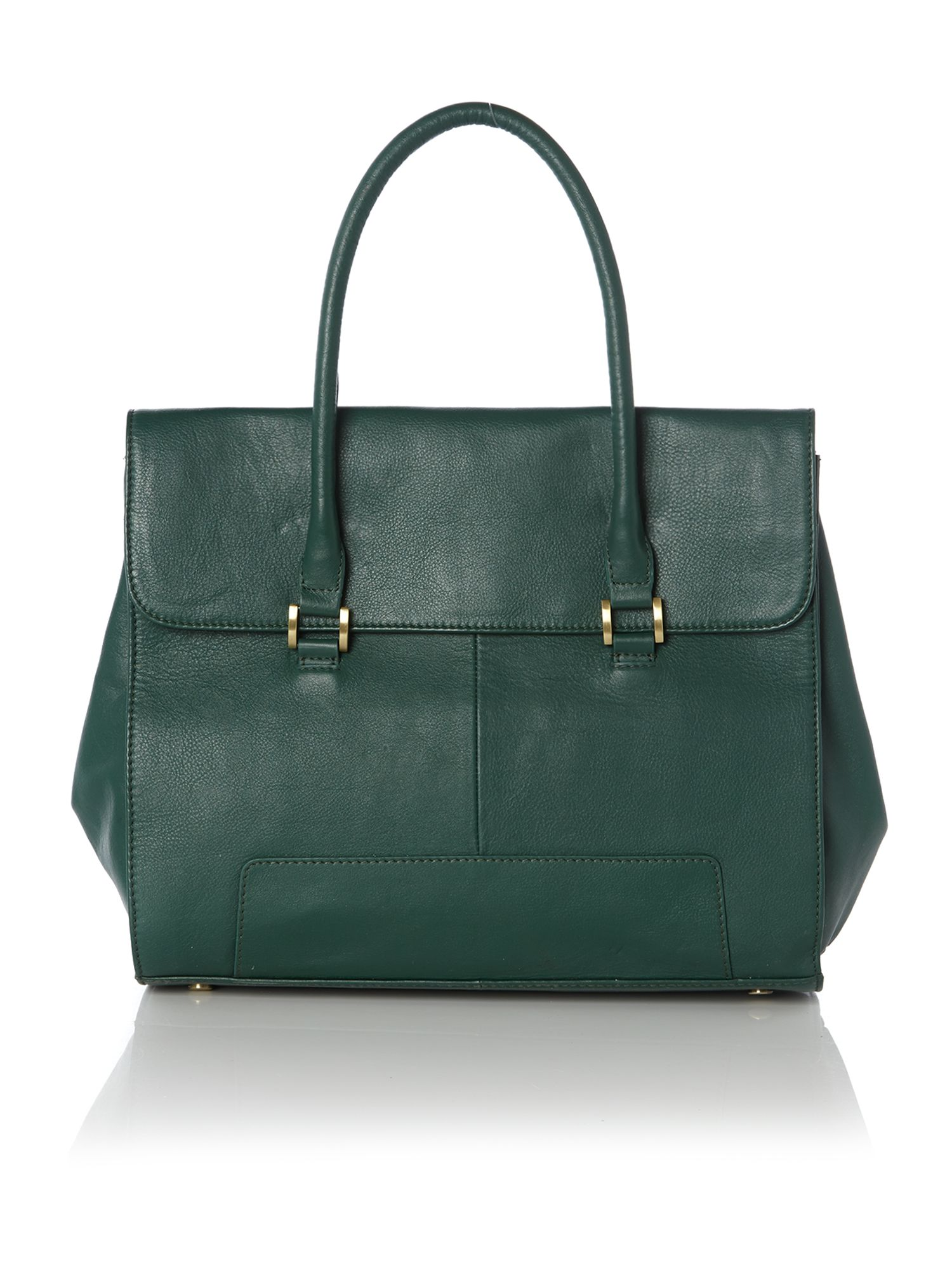 Winged work handbag