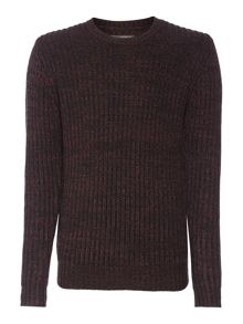 Label Lab Dean Multicoloured Crew Neck Jumper