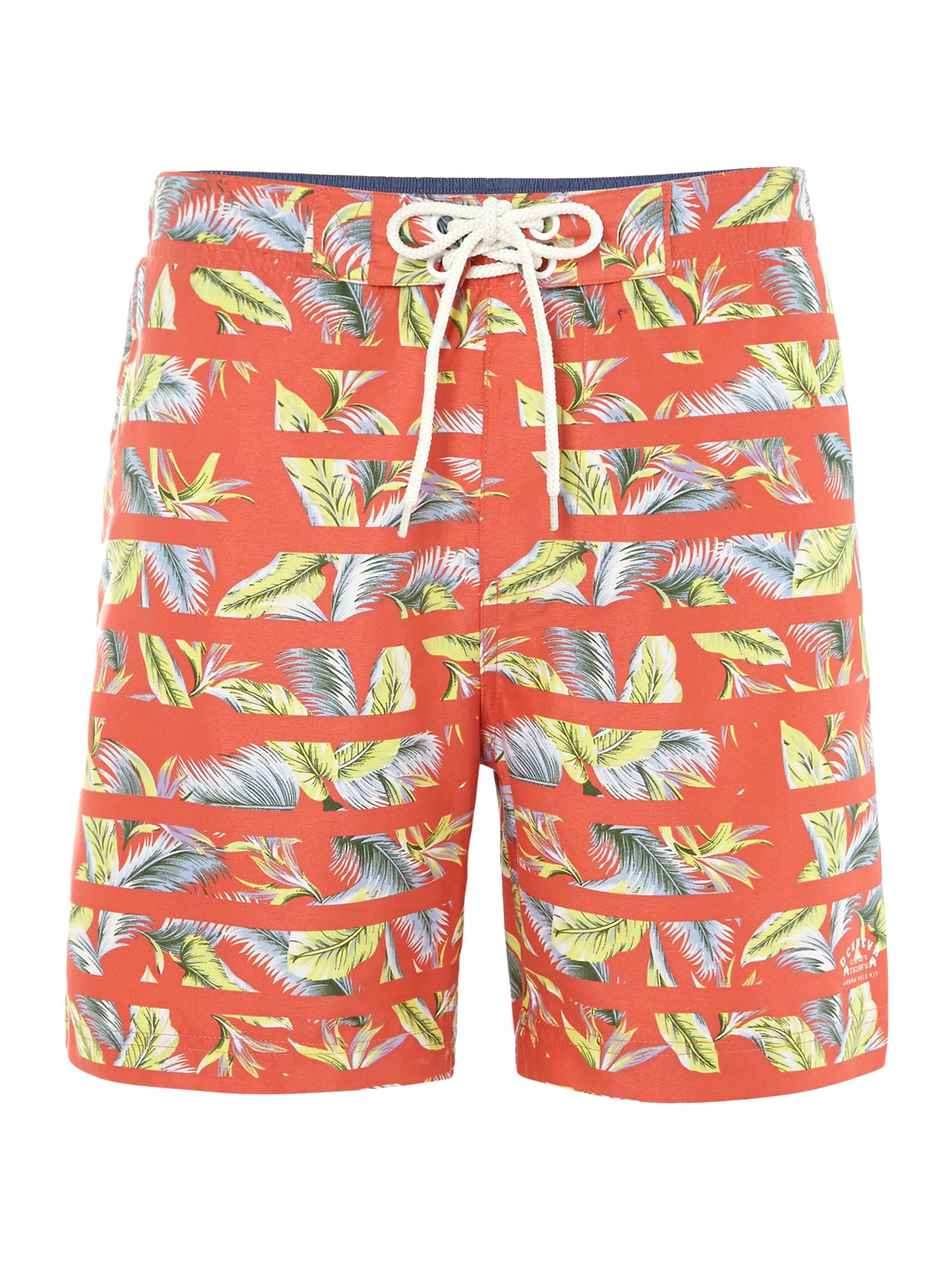Danno hawaiian print swim shorts