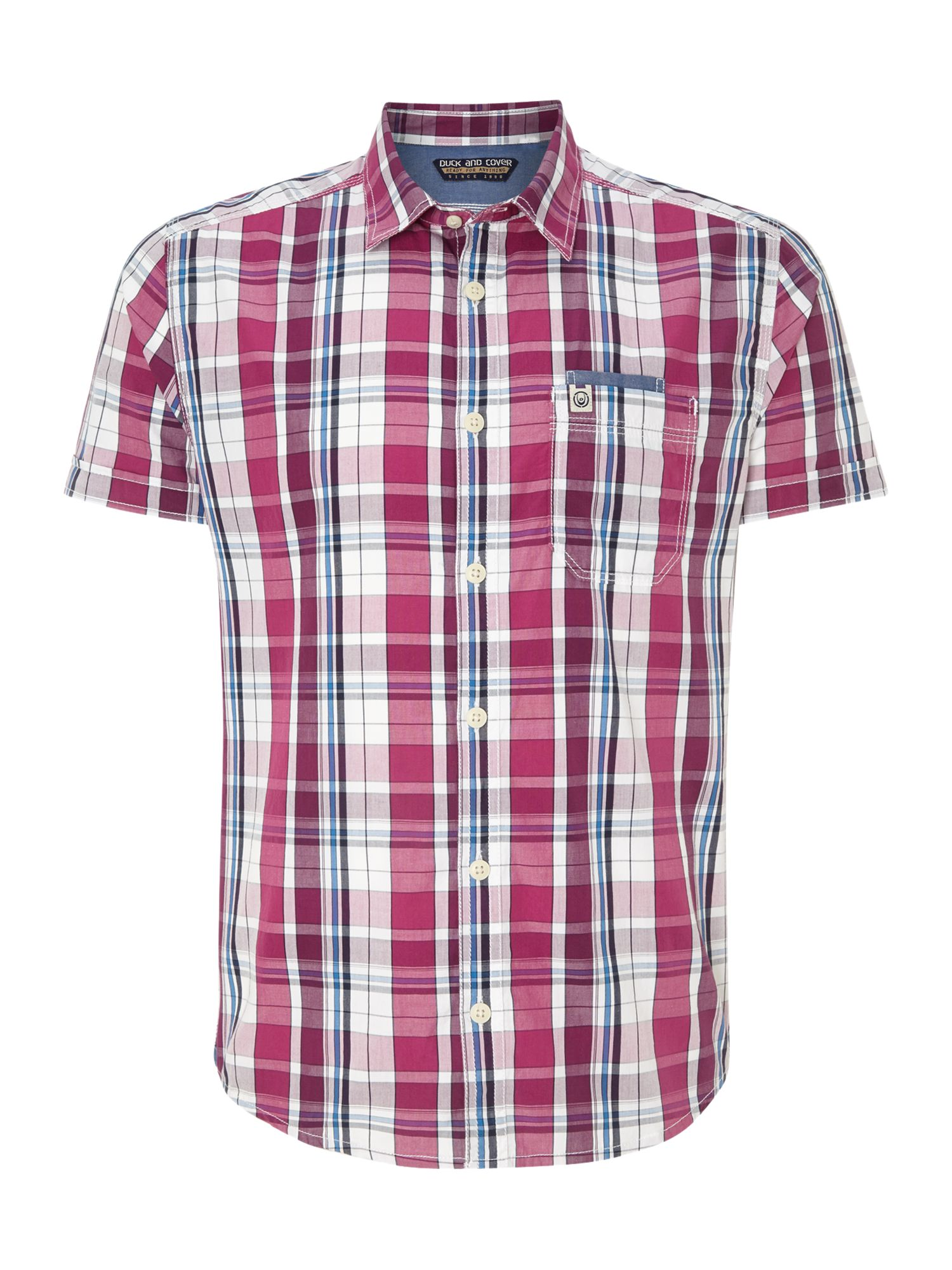Axel short sleeve casual shirt