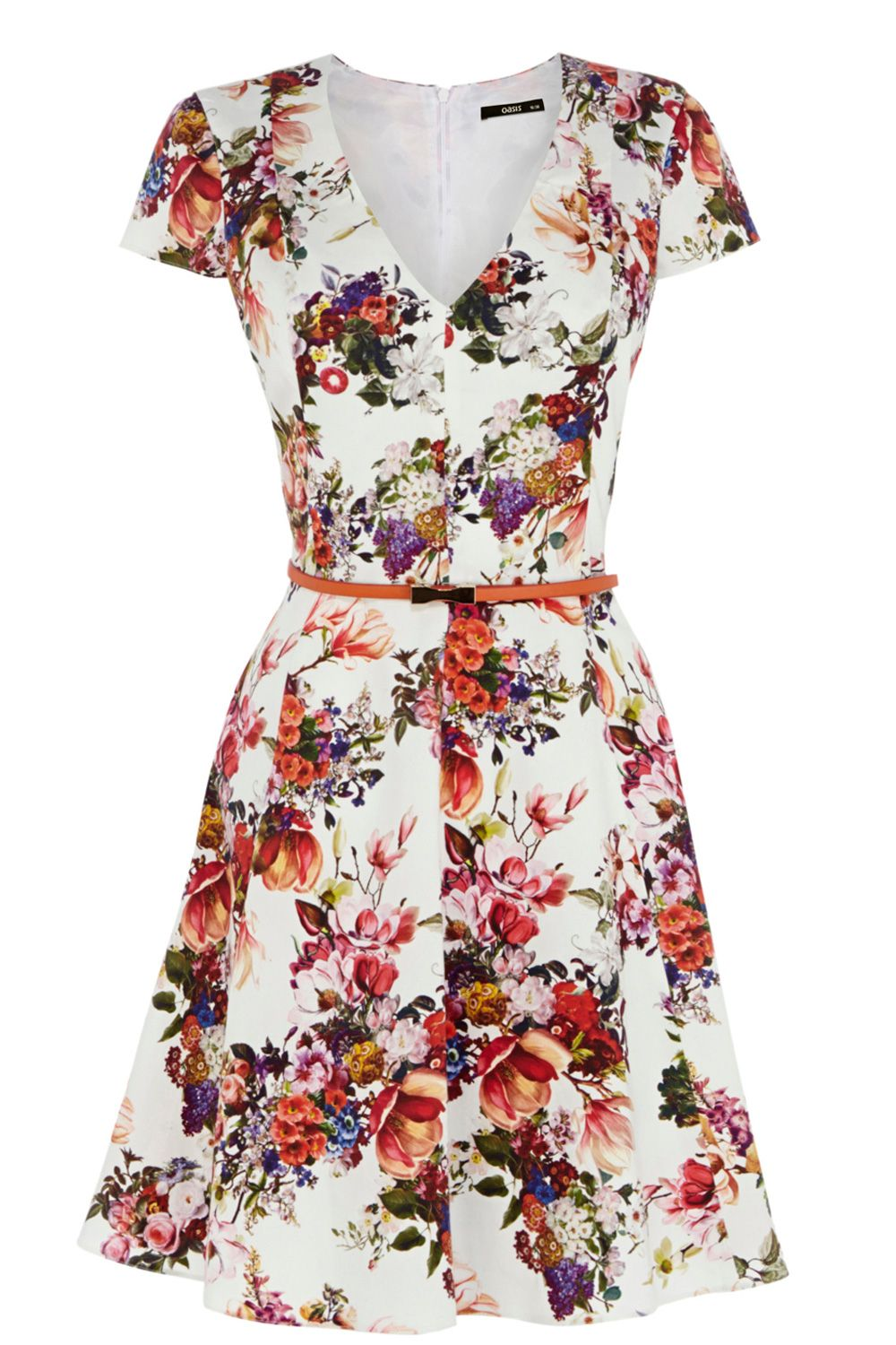 Botanical garden skater dress