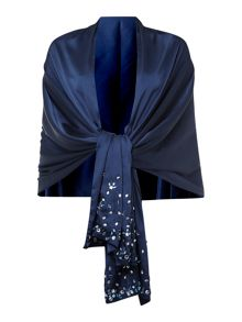 Coco embellished scarf