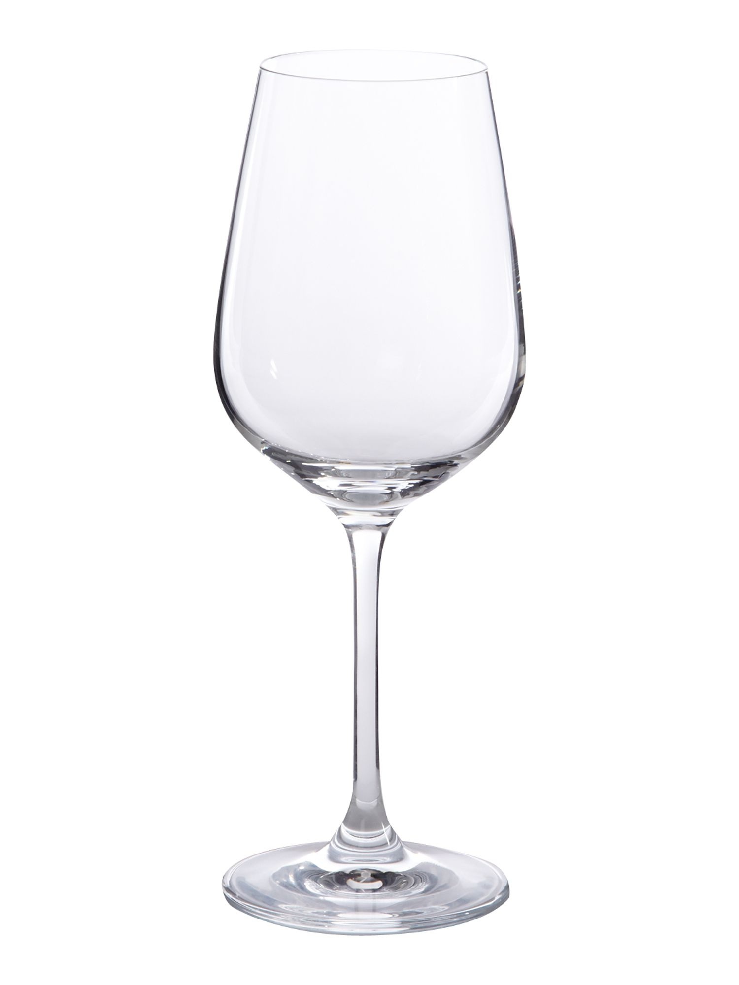 Linea Emily white wine crystal glasses box of 4