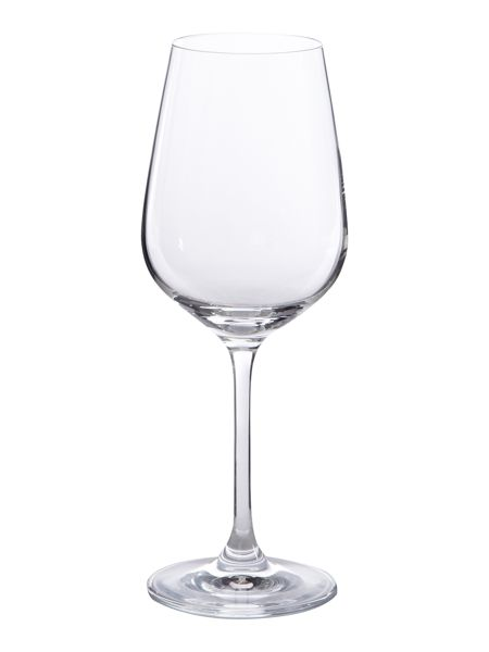 Linea Emily white wine crystal glasses, box of 4