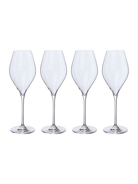 Linea Hannah white wine crystal glass set of 4