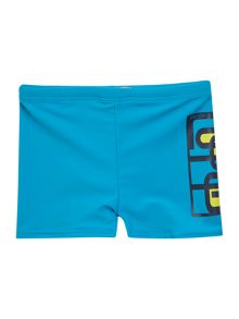 Boys graphic print swim short