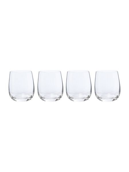 Linea Hannah crystal tumbler set of 4