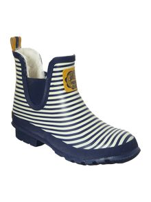 Navy stripe printed wellibob