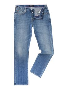 Slim light wash jeans