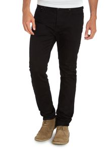 Slim fit blue black jeans