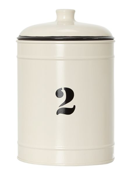 Linea No 2 medium storage tin