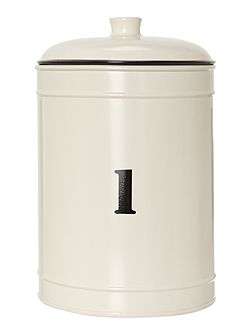 No 1 large storage tin