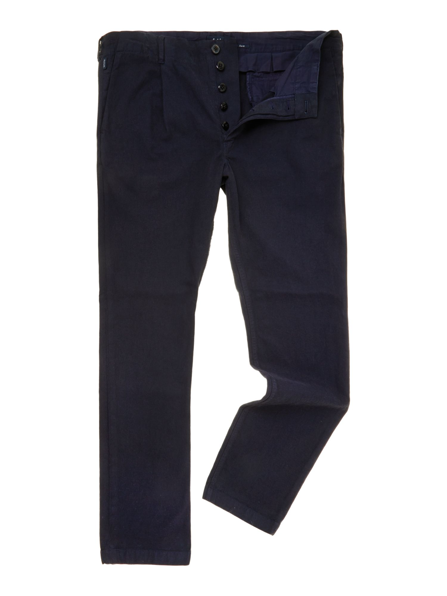 Dyed twill trousers
